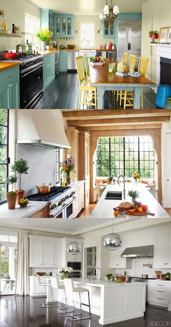 Design your stylish kitchen with these various ideas