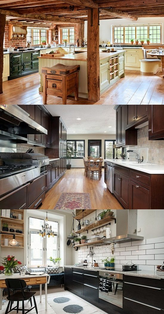 Enhance your home with stylish classic wooden kitchen