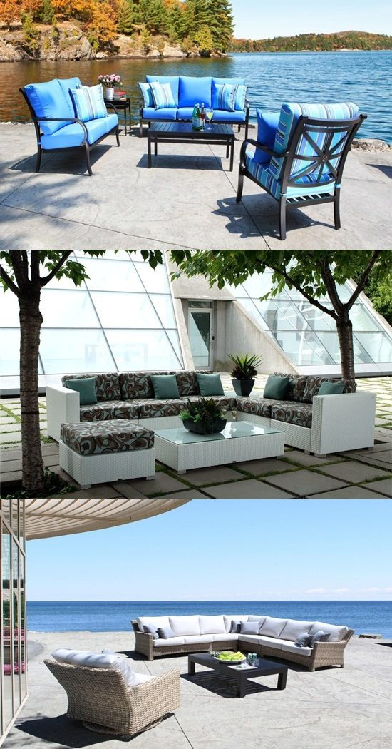Enjoy the summer with elegant outdoor wicker furniture