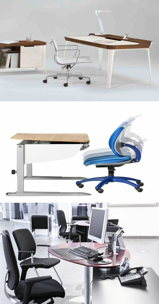 Ergonomic stylish healthy furniture