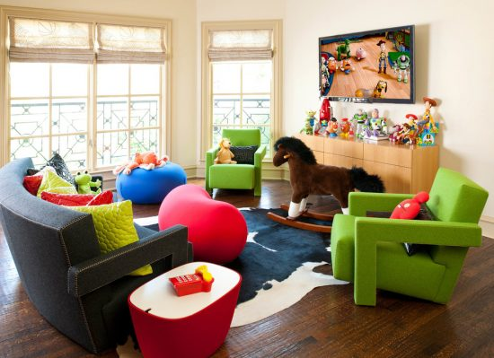 Funny colorful kid's furniture