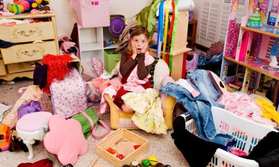 Have fun with cleaning your kid's bedroom with your child help