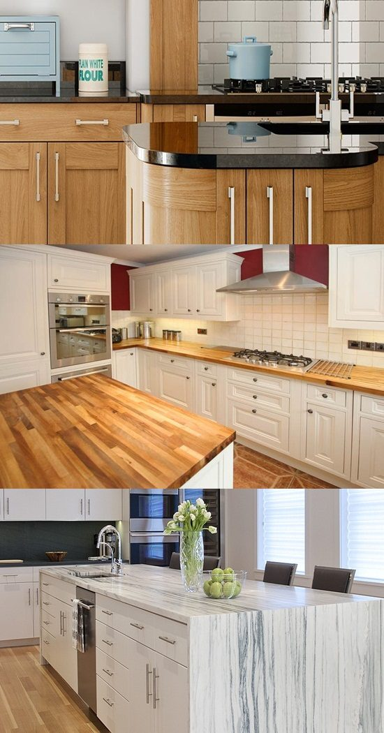 How to Choose the Material of Kitchen Worktops