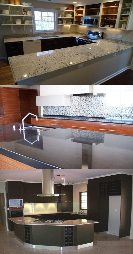 How to Design Contemporary Granite Kitchen Worktops