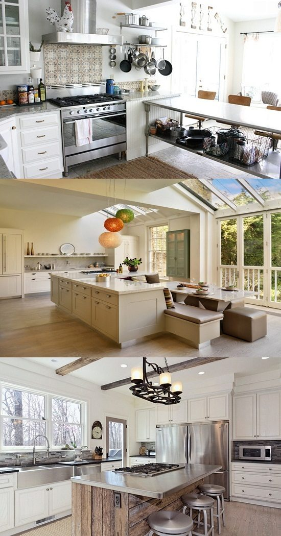 How to Design a White Kitchen far from Dullness