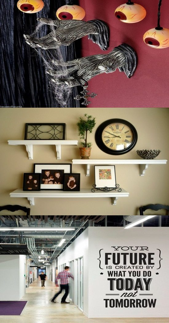 Interesting Wall Plexiglas Accents to Decorate the Unused Spaces