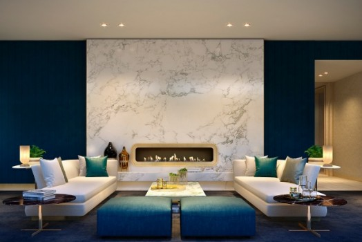 One Feature Wall to Impress