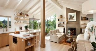 Recycled wooden furniture for warm and unique home