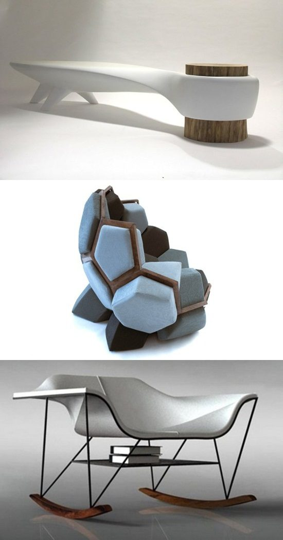 Stunning Futuristic Seating Furniture Designs to Provide You Comfort