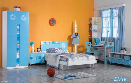cool kids' bedroom design