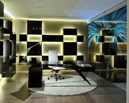 decorative appearance and great looking furniture by LED lighting