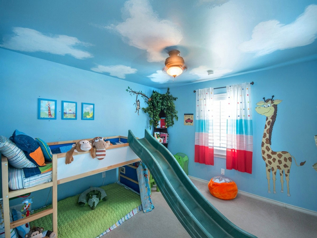 funny and decorative kid's playroom