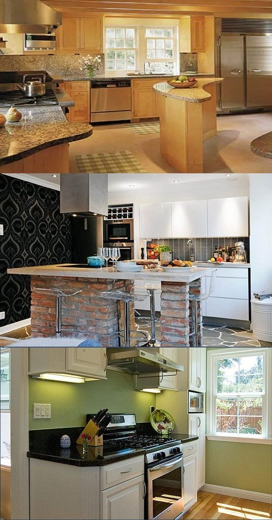 Amazing furniture ideas for a small kitchen design