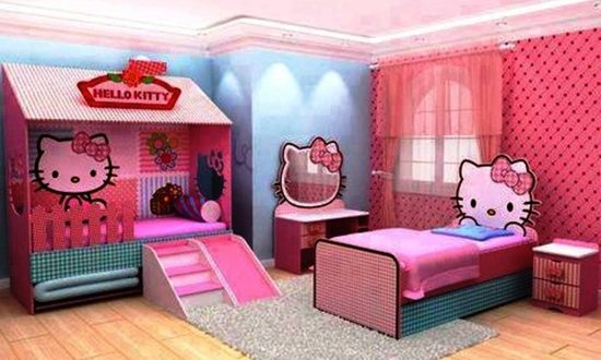 Beautiful Bedroom Design For Your Little Girl Interior