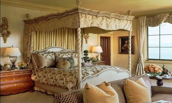 Charming bedroom design for a comfortable feel with elegant look
