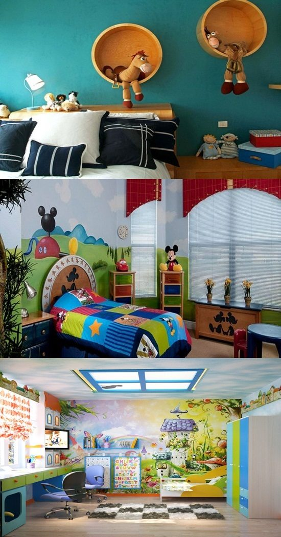 Colorful Bedroom Decorating Ideas for enhancing your kid creativity