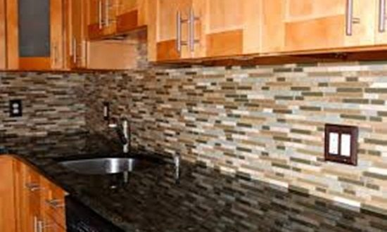 Create an attractive kitchen using stylish tiles