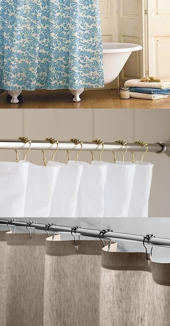 Cute shower curtain to enhance your bathroom overall look