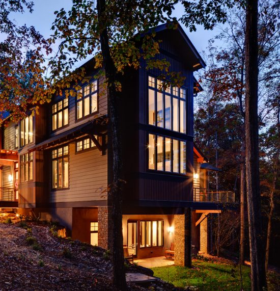 Dreamy Eco-Friendly House Designs among Natural Views by Johnston Design Group