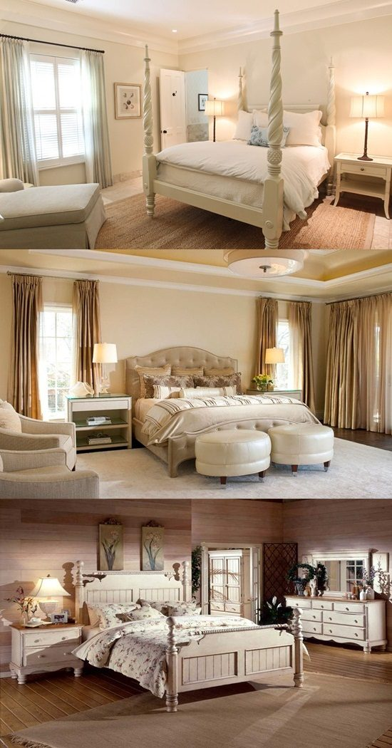 Enhance your bedroom with a warm and charming romance design