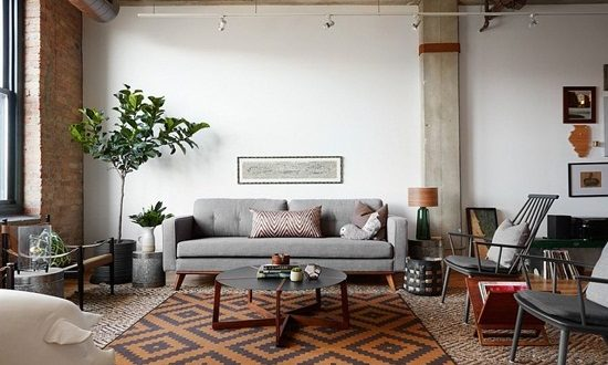 Get inspired and create your own spring living room