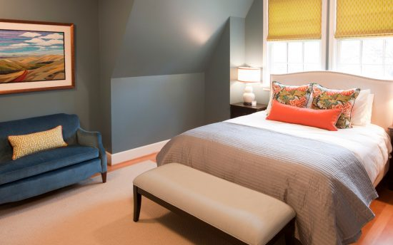 Gorgeous Ways to Use Bold Colors in Serene and Calm Bedrooms Inspired by the Designs of Amy Troute
