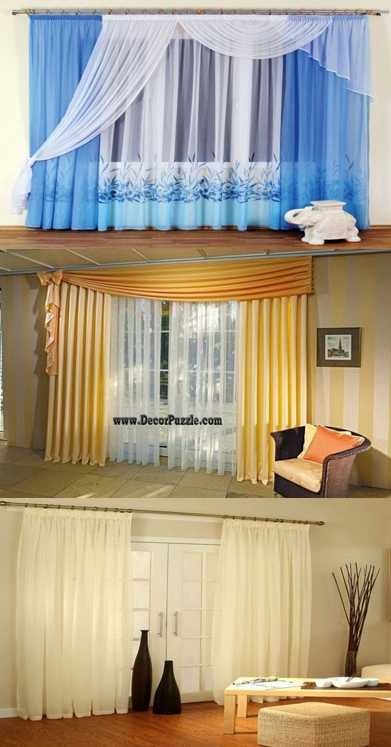 New Voile curtains to enhance your interior home design