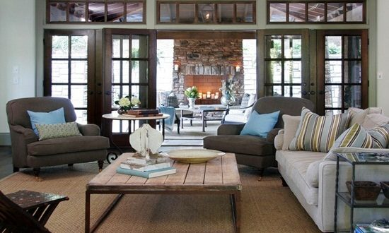 Take the most advantages of your open plan living room