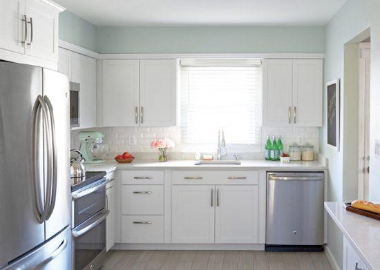 White kitchen design to brighten up your whole kitchen