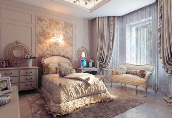 a traditional elegance to your bedroom design