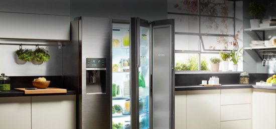 kitchen is supposed to be without high-technology refrigerator