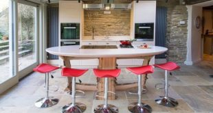 "Enhance your home with the amazing kitchen design called ""Island kitchen"""