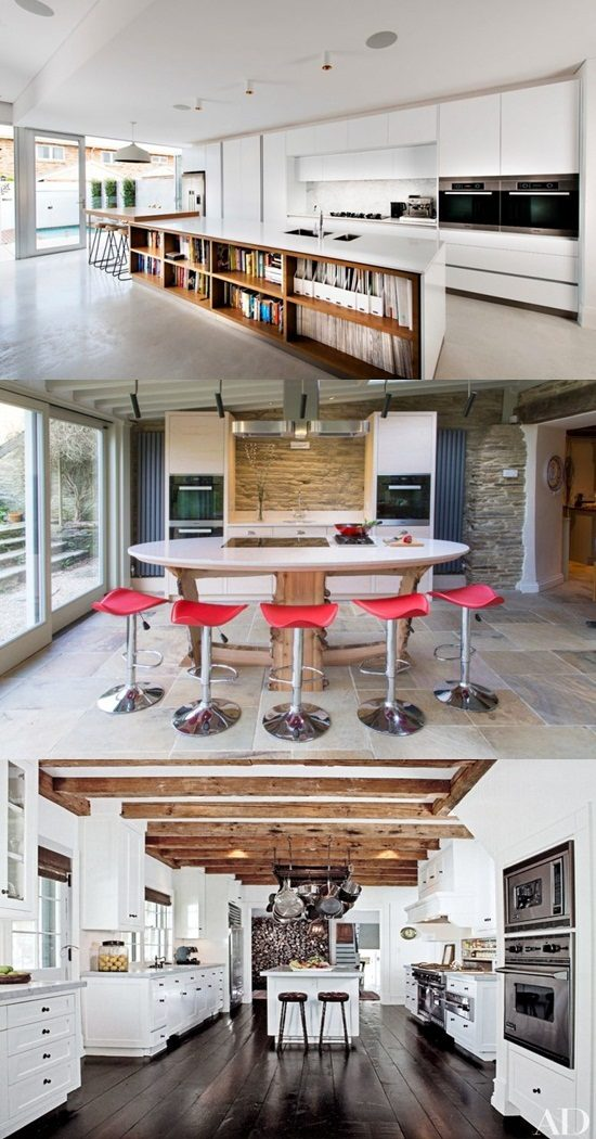 """Enhance your home with the amazing kitchen design called """"Island kitchen"""""""