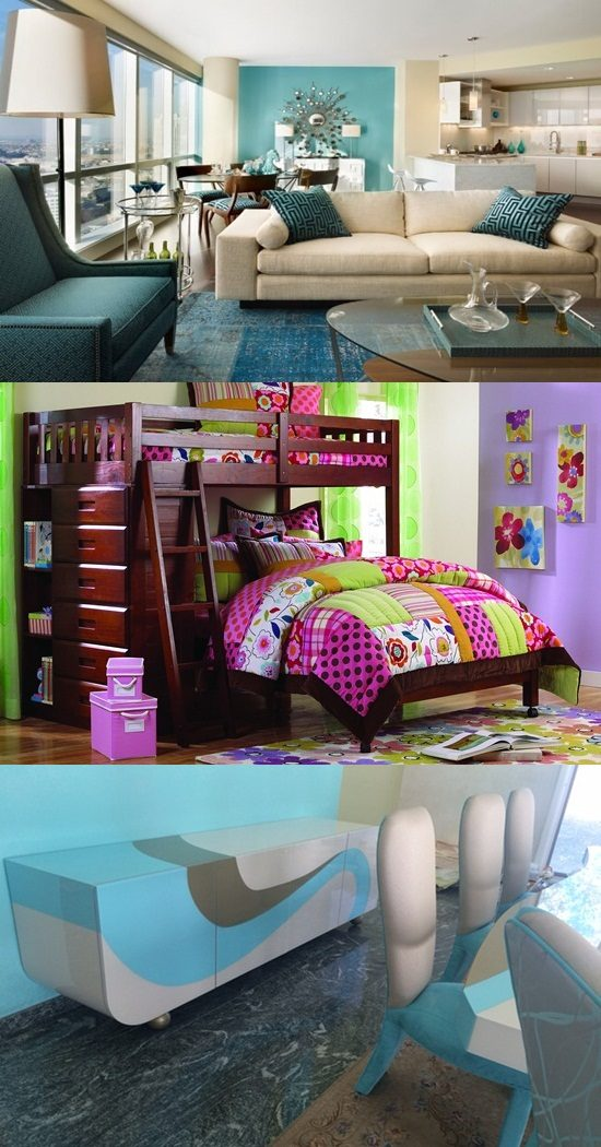 Fresh and Colorful Furniture Set that enhance the one's creativity and imagination