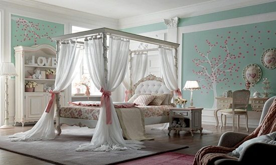 Get a beautiful children bedroom to make your child happy