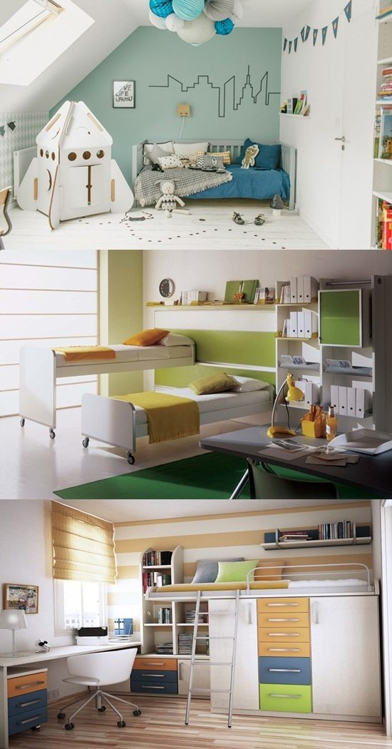 How to utilize the small space perfectly in a kid 39 s room for Utilizing space in a small bedroom