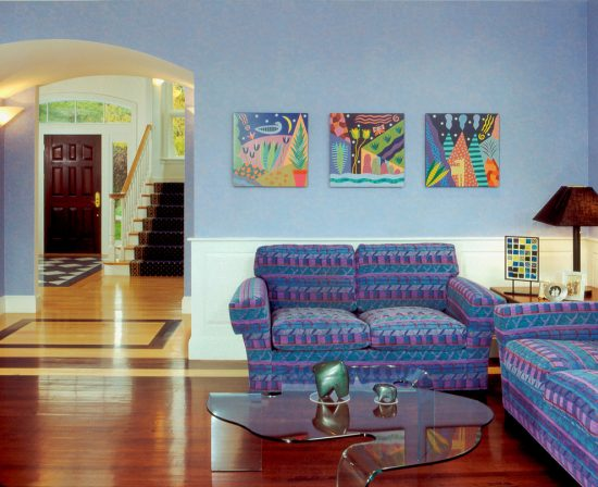 Climb These Steps to Get a Fabulous Decorated Modern Home by Linda Stimson