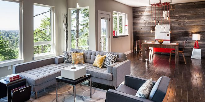 Trendy Modern Rustic Living Space Ideas By Jordan Iverson