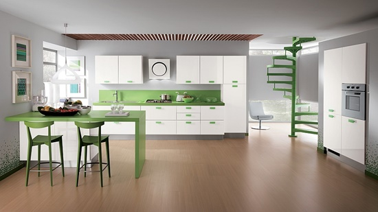 Add value to the whole home by a simple and sleek modern kitchen