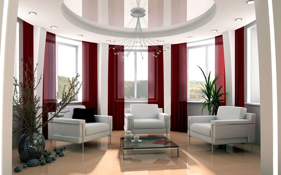 Complete your house modern look with an elegant modern curtain