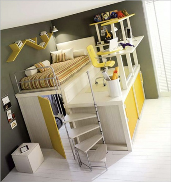 Give your teenager's kid the bedroom heshe wishes for