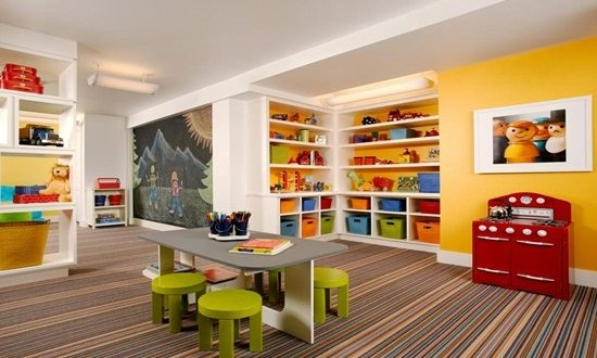 Kid's playroom design ideas to enhance your kid's imagination and creativity