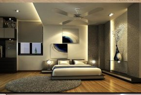 Modern colorful bedroom renovation to enhance your home value