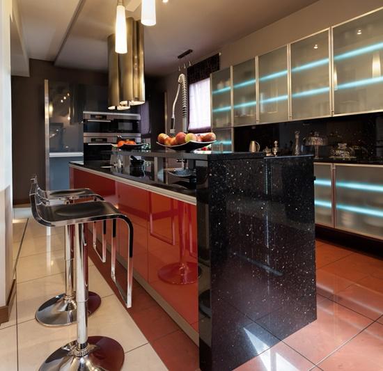 European Kitchen Design Pictures: Stylish European Kitchen Design With Sleek And Clean Look