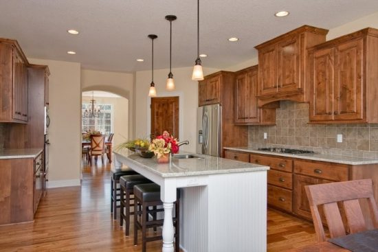 Visually Appealing Kitchen Design Ideas for Family Gatherings by Kathie Karsnia Interiors