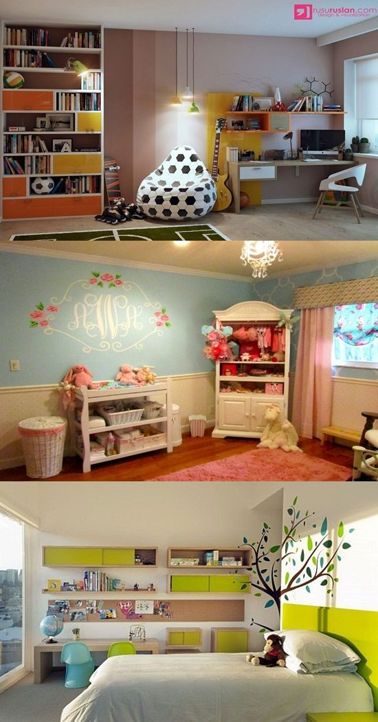 Wonderful and cheerful design ideas for your boy's room