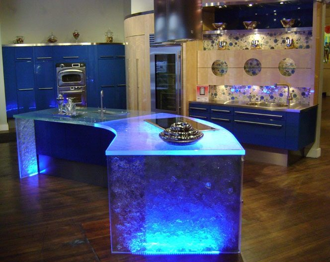 Enhance your 2016 home with Wonderful Illuminating Glass Furniture