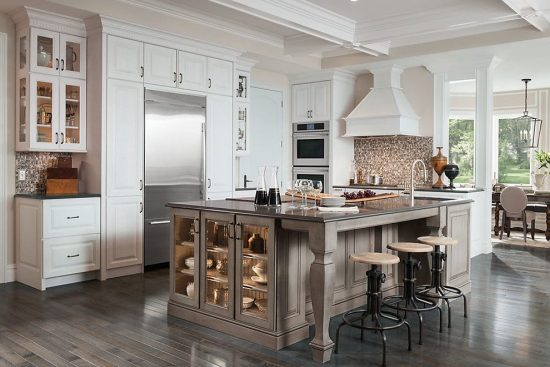 Interesting DIY Techniques to Renew Kitchen Cabinet Doors ...