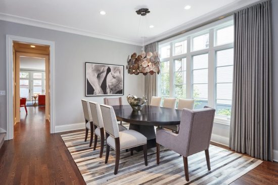 Sophisticated Classic Dining Room Design Ideas with a Modern Twist by Lisa Wolf 9