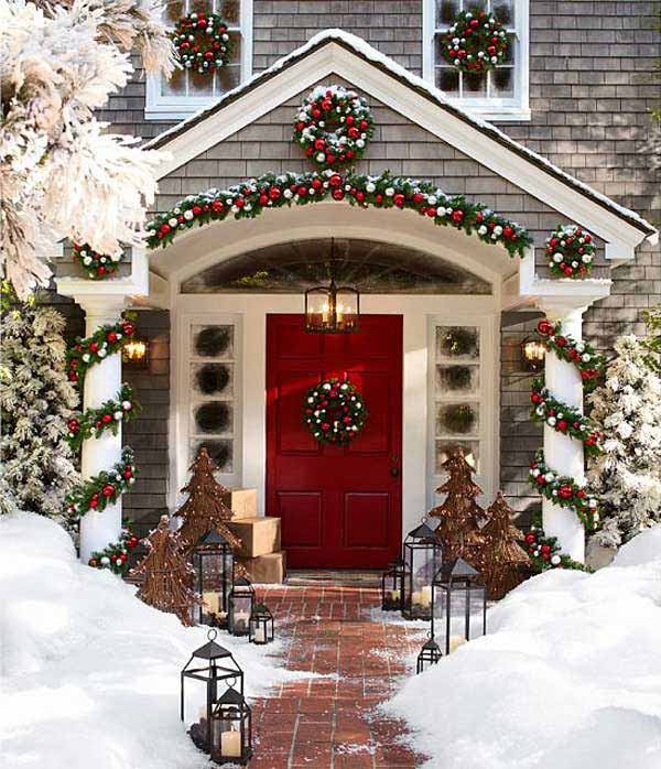 5 Ideas To Decorate Your Front Porch At This Year Christmas